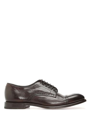 %100 Deri Bağcıklı Klasik Ayakkabı-Henderson